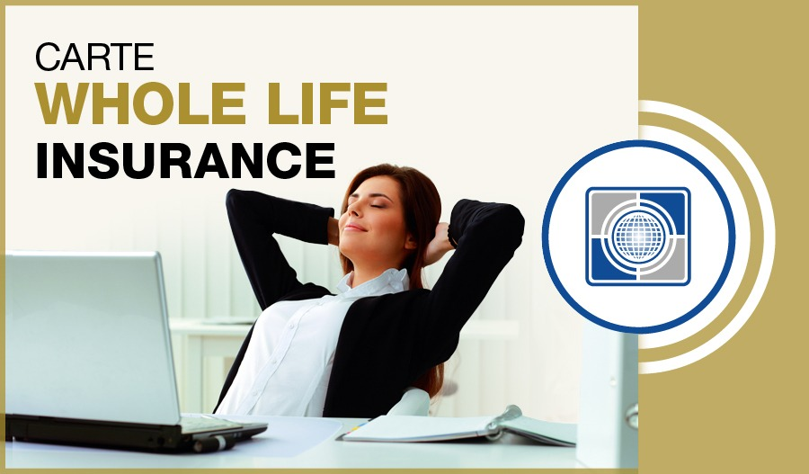 products insurance life insurance carte whole life in