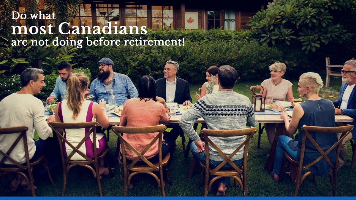 Do what most Canadians are not doing before retirement - Kang Tax